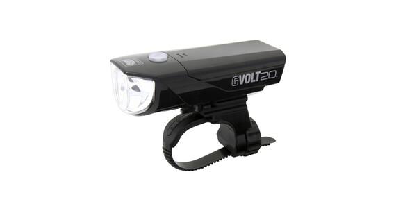 CatEye GVOLT20RC HL-EL350GRC - Luz a pilas dilanteras - negro